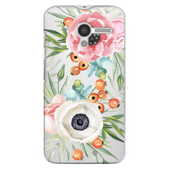 Moto X Cases - Watercolor flowers and berries