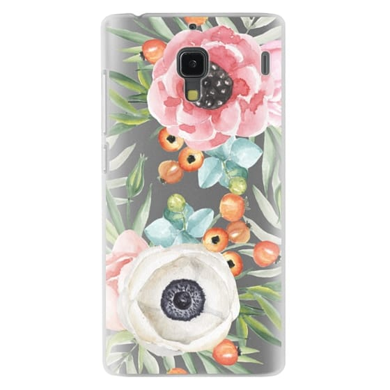 Redmi 1s Cases - Watercolor flowers and berries