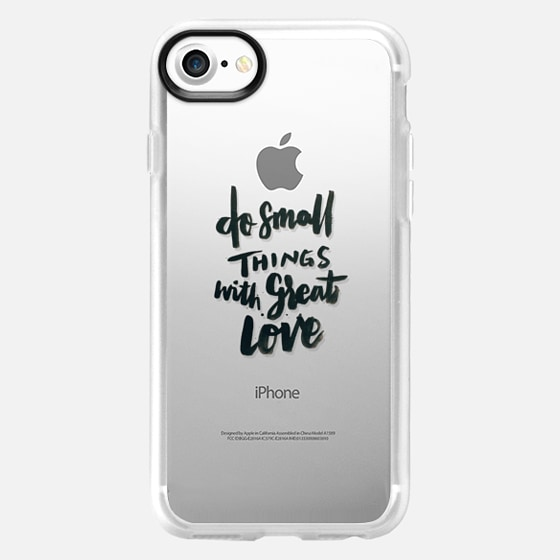 Do Small Things With Great Love - Wallet Case