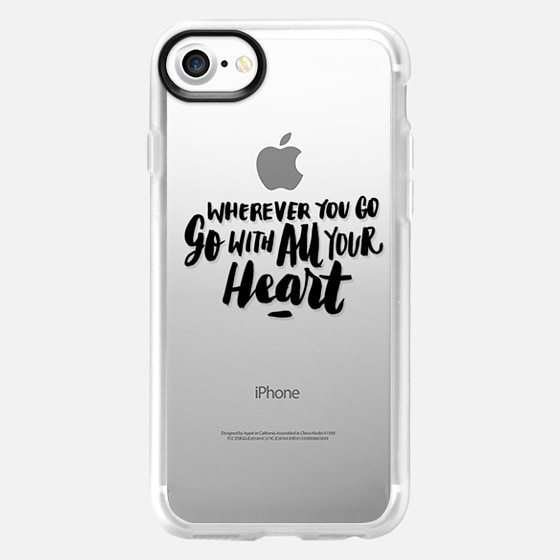Go With All Your Heart - Wallet Case