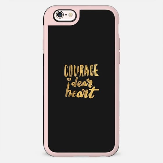 Courage, Dear Heart • Black Gold - New Standard Case