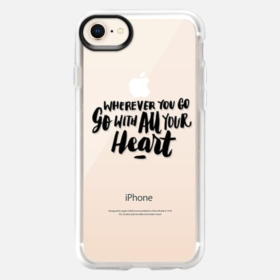 Go With All Your Heart - Snap Case