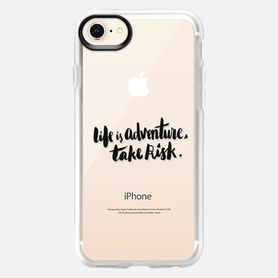 Life is Adventure, Take Risk - Snap Case