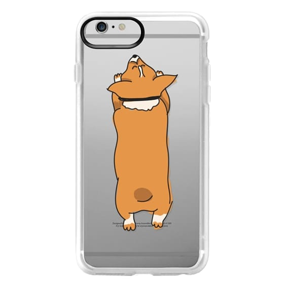 iPhone 6 Plus Cases - One Corgi Sploot