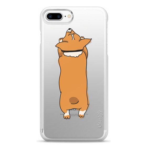 iPhone 7 Plus Cases - One Corgi Sploot