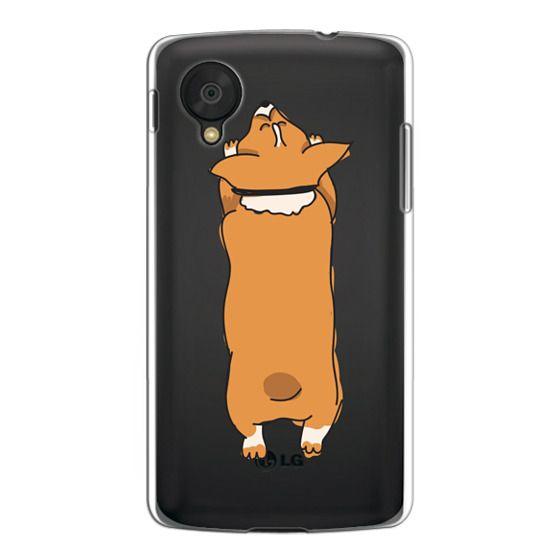 Nexus 5 Cases - One Corgi Sploot
