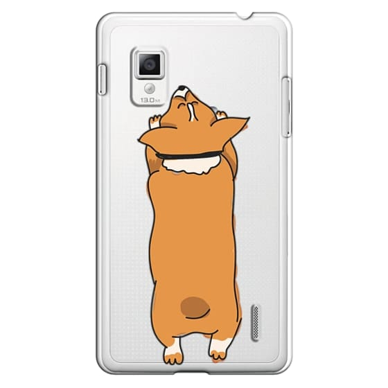 Optimus G Cases - One Corgi Sploot