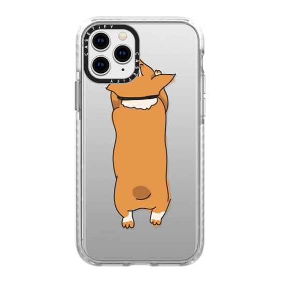 iPhone 11 Pro Cases - One Corgi Sploot