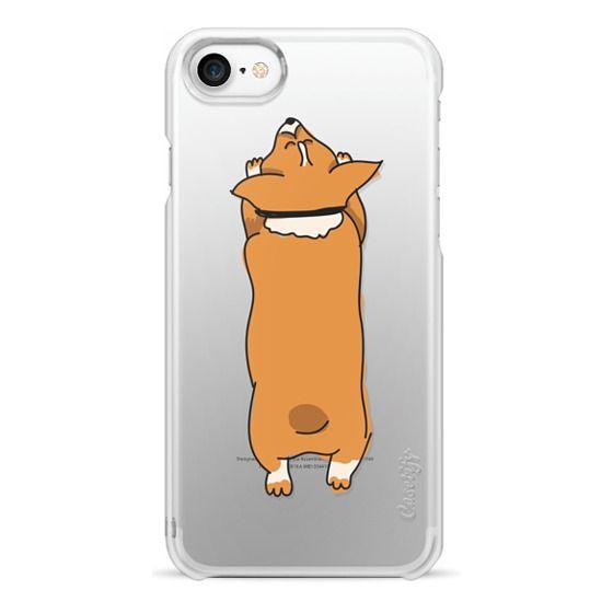 iPhone 7 Cases - One Corgi Sploot