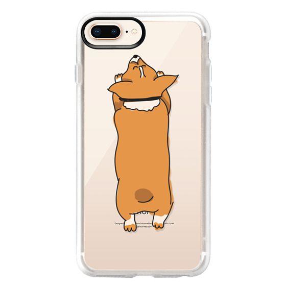 iPhone 8 Plus Cases - One Corgi Sploot