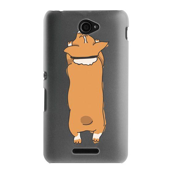 Sony E4 Cases - One Corgi Sploot
