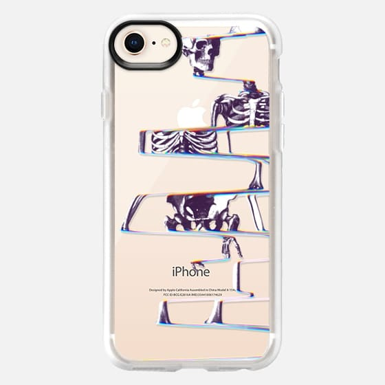 Skeleton Transparent - Snap Case