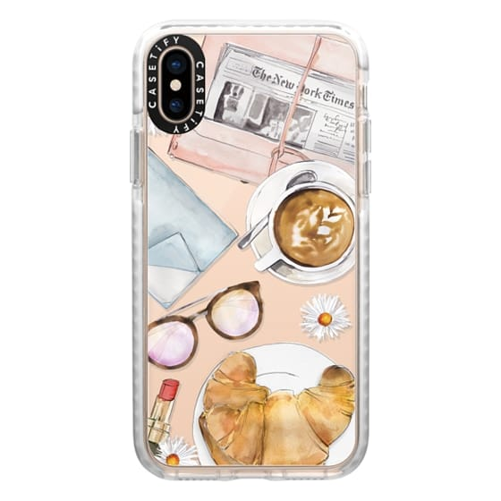 iPhone XS Cases - Cafe Life