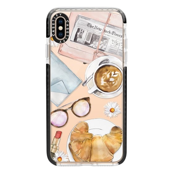 iPhone XS Max Cases - Cafe Life
