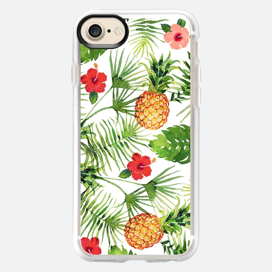 Pineapples and leaves - Wallet Case