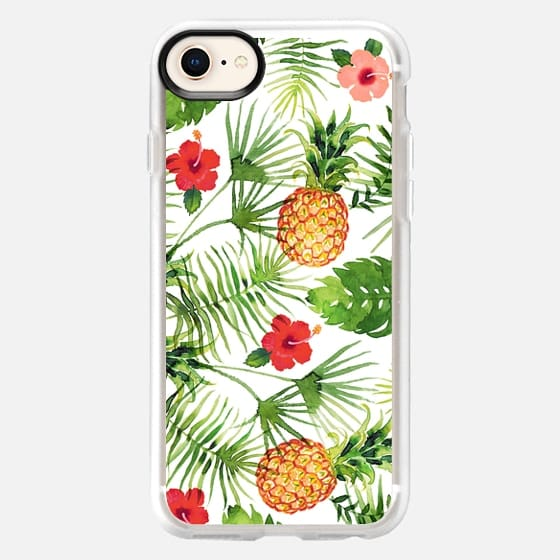 Pineapples and leaves - Snap Case