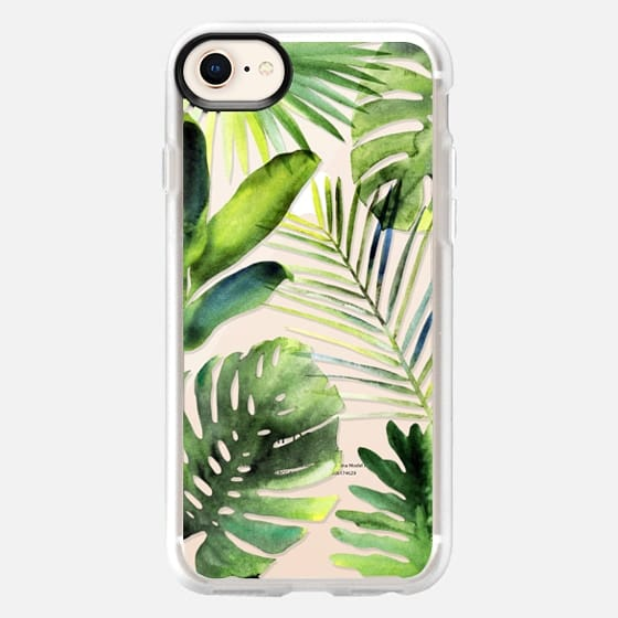 Tropical leaves - Snap Case