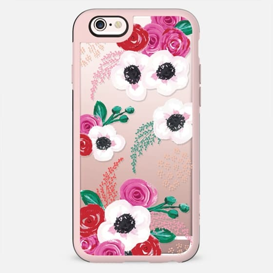 Pretty Red Posy flowers - New Standard Case