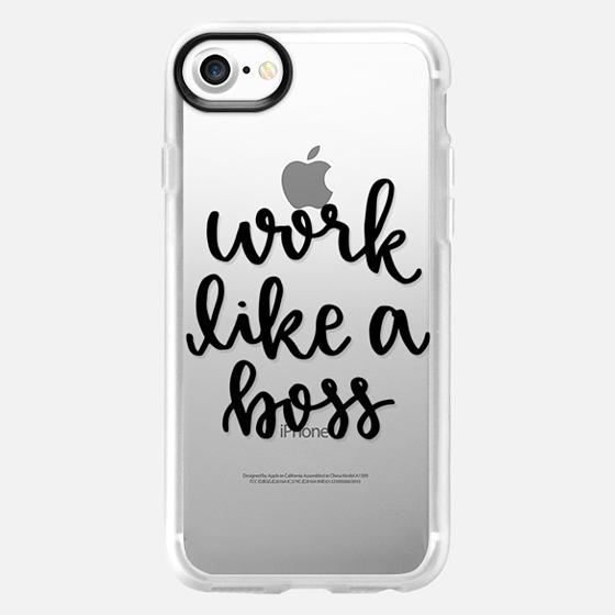 Work Like a Boss - Wallet Case