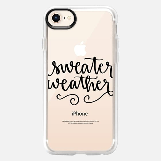 Sweater Weather - Snap Case