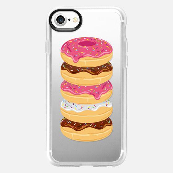 Pink & Sprinkles Donut Stack // Transparent Doughnuts -
