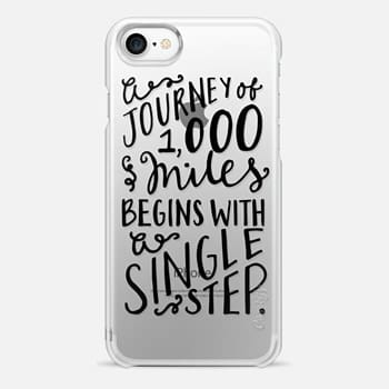 iPhone 7 Case A Journey of a Thousand Miles
