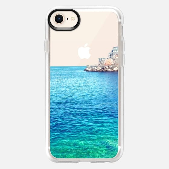 Rather be in Greece -- Transparent -- Summer Beach - Snap Case