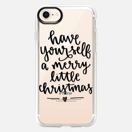 Merry Little Christmas - Snap Case