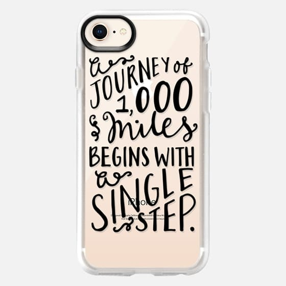 A Journey of a Thousand Miles - Snap Case
