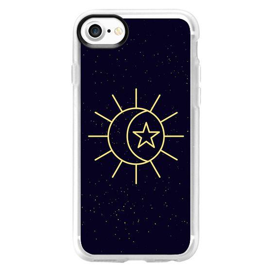 wholesale dealer f5eb1 14eda Impact iPhone 8 Plus Case - Starry Night - Sun Moon Star