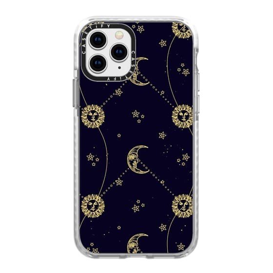 iPhone 11 Pro Cases - Mystic Moon & Sun Pattern