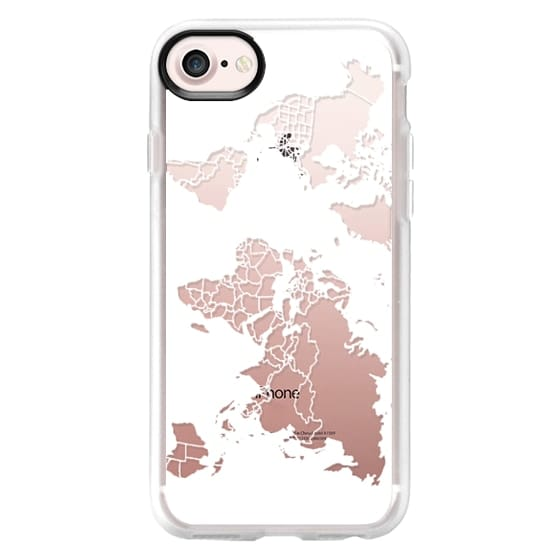 iphone 8 case worl map