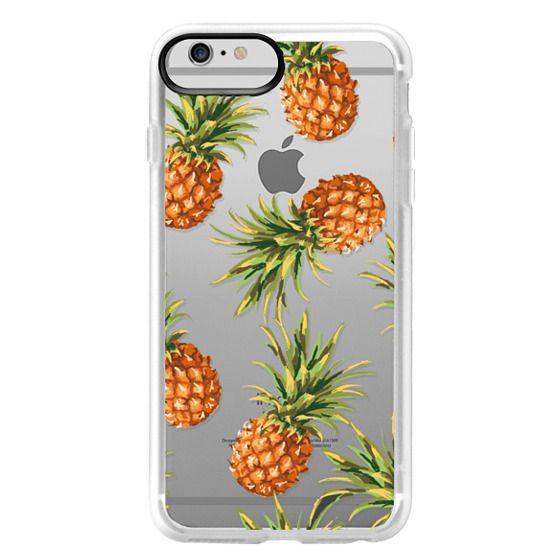 iPhone 6 Plus Cases - Summer Pineapples! Transparent