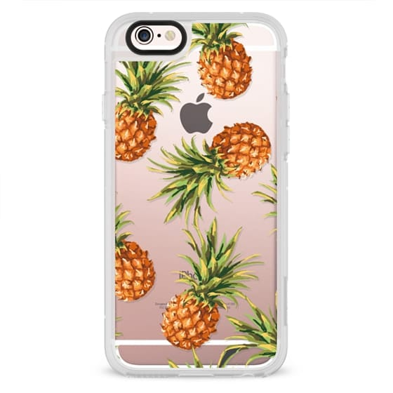 iPhone 6s Cases - Summer Pineapples! Transparent