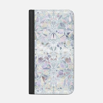 iPhone Wallet Case -  Solitaire - diamond