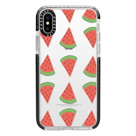 iPhone X Cases - Water Melon