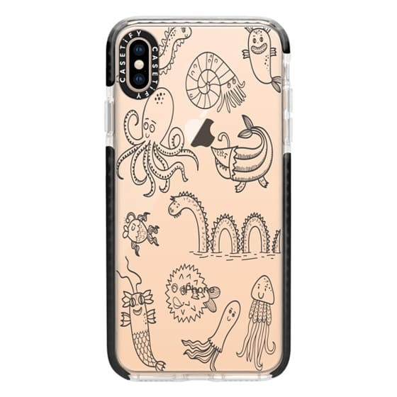 iPhone XS Max Cases - Happy Seamonsters