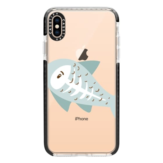iPhone XS Max Cases - X-ray Fish