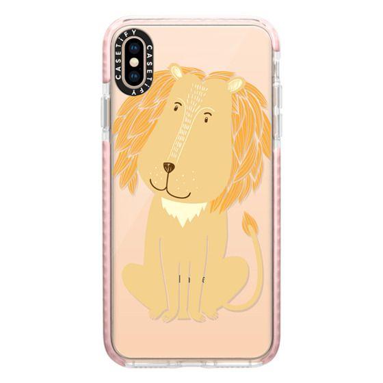 iPhone XS Max Cases - Lion