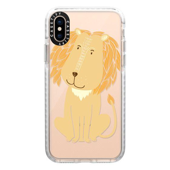 iPhone XS Cases - Lion