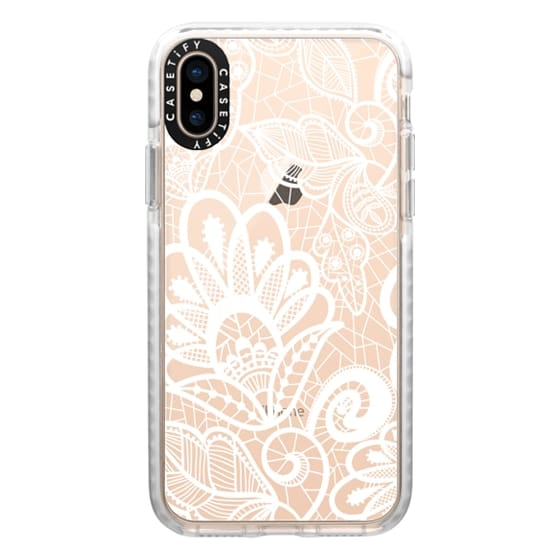 iPhone XS Cases - Flower Lace