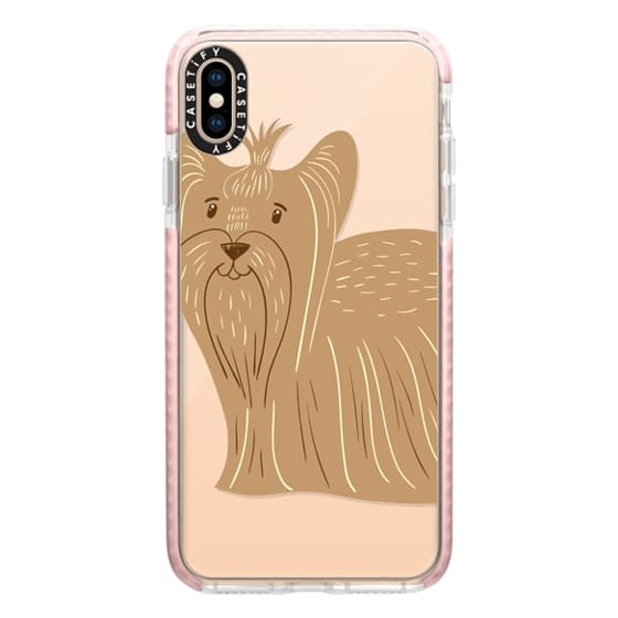iPhone XS Max Cases - Terrier of Yorkshire