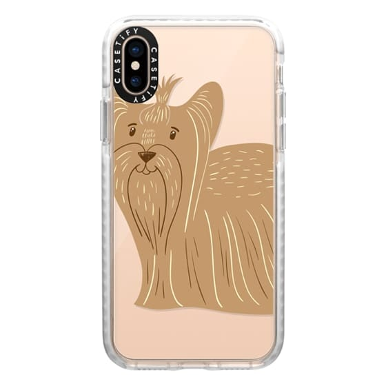 iPhone XS Cases - Terrier of Yorkshire