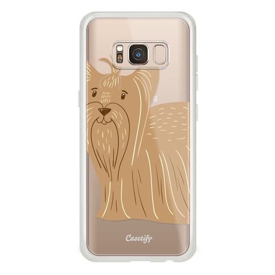 Samsung Galaxy S8 Cases - Terrier of Yorkshire