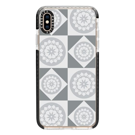 iPhone XS Max Cases - Silver