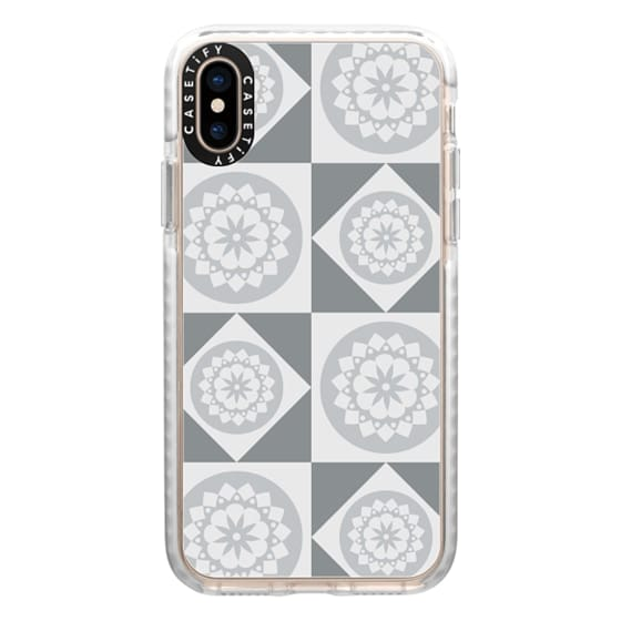 iPhone XS Cases - Silver