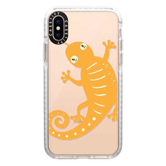 iPhone XS Cases - Lizard