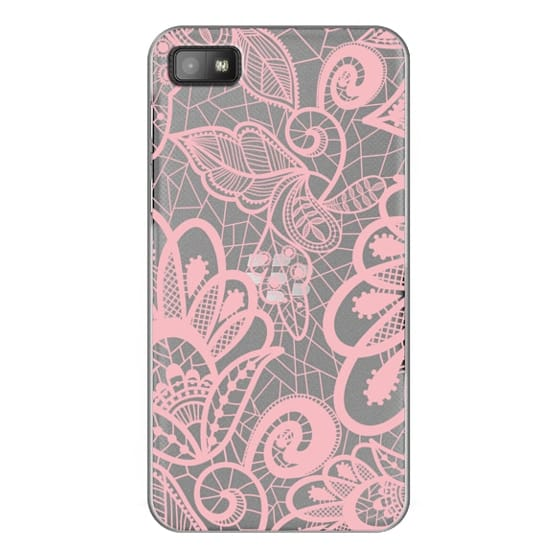 Blackberry Z10 Cases - Flower Pink Lace