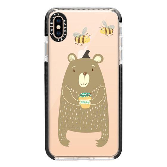 iPhone XS Max Cases - Honey Bear