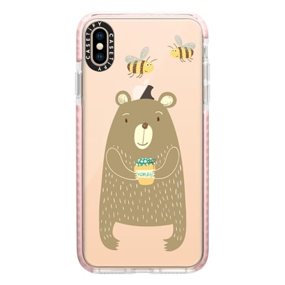 iPhone XS Max Cases - Honey Bear
